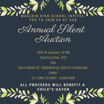 MHS Silent Auction Flyer